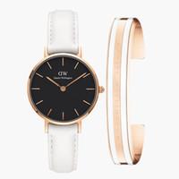 спортивные браслеты для женщин оптовых-Розовое золото новая мода классический браслет для Daniel Wellington часы женщины 32 мм платье спортивные женские часы человек наручные часы