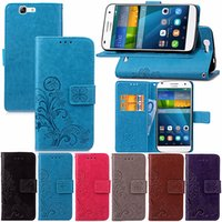 Wholesale ids ii - Premium PU Leather Flip Fold Wallet Case with [ID&Credit Card Slot] for Huawei G7 Y5 II Y625 Y635 MAGIC G6 Mate 5 Plus G9