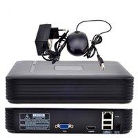 systèmes de vidéosurveillance ip achat en gros de-CCTV NVR 1080P ONVIF 2.0 de pleine HD 4CH 8CH de sécurité de NVR pour le système 1080P de caméra IP avec le système de surveillance de radiateur