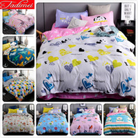 Wholesale purple rose bedspread for sale - Group buy 3 Bedding Set Adult Kids Child Soft Cotton Bed Linen Quilt Comforter Bed Linen Single Twin Full Queen King Size Bedspreads