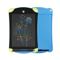 Wholesale digital pen write - LCD Writing Tablet Cartoon 8.5 inch Digital Drawing Electronic Handwriting Pad Message Graphics Board Tablet Drawing Pen Memo Board for kids