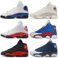 Wholesale women patent shoes for sale - 13 s Mens Basketball Shoes Phantom Chicago GS Hyper Royal Black Cat Flints Bred Brown Olive Wheat DMP Ivory Grey men sports sneakers women