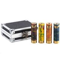 батарея чести оптовых-Аутентичные SMOKJOY честь смолы мех мод с 18650 батареи топ Vape Pen Mod для оригинальных 510 резьба танк 100% подлинной