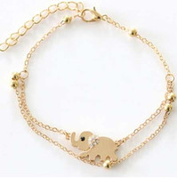 Wholesale women ankles locked chains for sale - Group buy FAMSHIN Sexy Sandalias Beach Rhinestone Elephant From India Barefoot Chain Ankle Bracelet Foot Jewelry Anklets For Women
