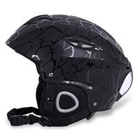 Wholesale adjustable size helmet resale online - BENICE Cycling Skiing Helmet Outdoor Sport Headgear with Adjustable Buckle Adjustable chin pad with magic tape offer you suitable size