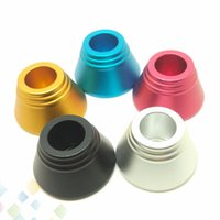 Wholesale e cigarette battery stand holder for sale - Group buy 15MM Metal Base PreHeat Battery Stand Electronic Cigarette Display Colors Fit Preheating Battery Mods Atomizers E Cig holder DHL Free