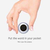 detecção de movimento ao ar livre ip cameras venda por atacado-Nova C2 Mini Câmera 1080 P Câmera IP Sem Fio Night Vision Detecção de Movimento Mini DV P2P WiFi Câmeras de Vídeo Gravador para Câmera de Ação Ao Ar Livre