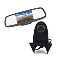 Wholesale rearview camera mercedes resale online - Vardsafe OE570 Car Reverse Backup Camera Rearview Mirror Monitor for Mercedes Sprinter