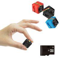mikrokamera dvr bewegung großhandel-SQ11 HD kleine mini Kamera cam 1080 P video Sensor Nachtsicht Camcorder Micro Kameras DVR DV Motion Recorder Camcorder SQ 11 dvr