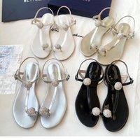 römische sandaletten großhandel-Sommer 2018 SW neuen Stil Klemm kalten Widerstand niedrigen Absatz koreanische Version der römischen Muller flache Sandale mit di
