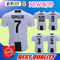 Wholesale best new homes - BEST QUALITY 2018 New Italy Club soccer jersey 18 19 home RONALDO DYBALA MORATA MARCHISIO MANDZUKIC DANI ALVES 2018 Serie A football shirt
