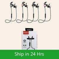 Hot selling SLS100 stereo wireless bluetooth 4.1 sports earphone magnetic head inear supper bass music headset neckband headphone with package 60X