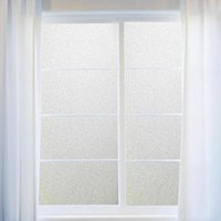 Removable Resin Plant 2M 3M PVC Frosted Privacy Frost Home Bedroom Bathroom  Glass Window Film Sticker