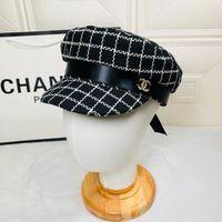 головные уборы для дам оптовых-Высококачественные женские кепки с капюшоном из натуральной кожи с хип-хопом и зонтиком от солнца (05055)