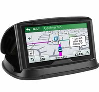universal-silikon-gps-halter großhandel-GPS Auto Halter Handy Halter Auto Dashboard Wiederverwendbare Silikon Pad Universal Car Mount Cradle Hohe Qualität