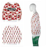 Wholesale l x l clothing for sale - Donald Trump Hoodie Shirt Christmas Sweatshirts D Printed Hoodies X mas Streetwear Hip hop Pullovers Tops Home Clothing OOA5911