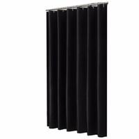 siyah banyolar toptan satış-Katı Siyah Tasarımcı Küf Olmayan Su Kovucu Kumaş Duş Perdesi Astar Banyo Polyester Su Geçirmez Ev Pencere Perdeleri