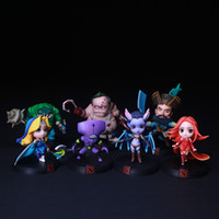Wholesale full figure for sale - DOTA2 Game Garage Kit Model Cartoon Full Set Butcher Queen Nether Captain Queen Action Figures Personality Vehicle Ornament hl WW