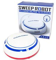 desenhos animados usb venda por atacado-Novo Automático USB Inteligente Robot Vacuum Floor Recarregável Doméstico Mini Desenhos Animados Mais Limpo Varrendo Máquina De Sucção Pequena Casa Futural livre DHL