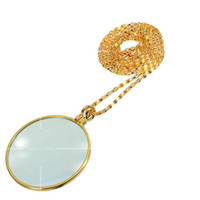 Wholesale Mini Jewelers Eye Loupes Jewelry Magnifiers Magnifying Glass Ingenious portable Loupe Magnifier Silver color