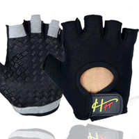 Wholesale red climbing gloves - Multi Function Half Finger Gloves Bodybuilding Cycling Rock Climbing No Slip Unisex Cycling Training Elasticity Hot Sale 12rh ii