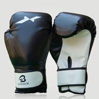 Wholesale taekwondo fighting gloves - 1pair Training Boxing Gloves Practical Sturdy Mitts Sanda Karate Sandbag Taekwondo Fighting Hand Protector Glove For Athletes 23bl ZZ