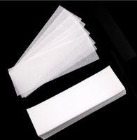 ingrosso carta grande nave-Grande epilatore non tessuto della carta di depilazione delle strisce dell'inceratura della cera professionale di 100pcs / Lot DHL libera il trasporto
