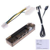 Wholesale atx for laptop online - PCI E External Laptop Video Card Dock Station ATX Cable For Mini PCI E Interface