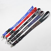 Wholesale Neck Lanyards Pass Holder - Bride Lanyard Keychain Neck Strap For ID Pass Card Badge Gym Key   Mobile Phone USB Holder