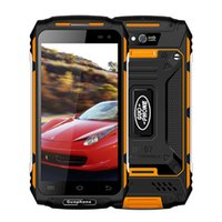 Wholesale Dual Sim Android Ip67 - Guophone X2 4G Rugged Smartphone IP67 Waterproof 5 Inch Android 6.0 Quad Core 2GB RAM 16GB ROM 8MP Camera 5500mAh Battery
