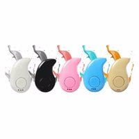 auriculares micro invisibles al por mayor-Invisible Comma Hidden Mini Inalámbrico Bluetooth Manos Libres Auriculares Audio Estéreo Gancho para los Oídos Deportes Auriculares Micro Invisible In-Ear