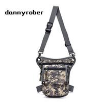 DANNYROBER 2017 Fashion Men Nylon Drop Waist Bags Leg Pack Bag Male  Shoulder Messenger Bag Money Belt Fanny Pack Work Toolkit 080a001bd3948