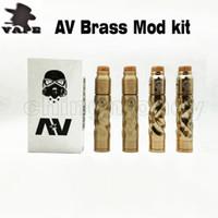 Wholesale metal machinery online - AV Mods E Cigarette Machinery Mods battery Electronic Cigarette thread Vape Comp Lyfe RDA DHL free