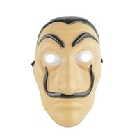 Wholesale house facing - Salvador Dali Cosplay Movie Mask Money Heist The House of Paper La Casa De Papel Cosplay Face Mask