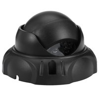 Wholesale dummy domes for sale - Realistic Dummy Surveillance Security Dome Camera with Flashing LED Red Light Dome Dummy Fake Camera Infrared IR CCTV