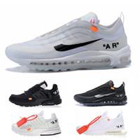 Wholesale art limited online - 2018 New Off VM Running Shoes Mens Women Maxes Limited Triple White Black Air Breathe s Presto Hurache OG Ultra Designer Sneakers