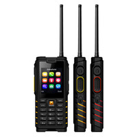 Wholesale cheap cell phones online - Cheap Walkie Talkie PTT dual sim Cell Phone Alps T2 IP68 Waterproof rugged UHF Inch mAh Mobile phone