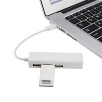 ingrosso router per pc-Adattatore USB multi-funzione USB3.1 Tipo-C Adattatore USB-C RJ45 Ethernet 3 porte USB 2.0 HUB Router PC Laptop Phone USB Splitter Thunderbolt
