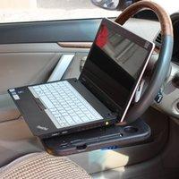 dizüstü bilgisayar masa tepsi masası toptan satış-Araba Direksiyon Simidi Dizüstü Bilgisayarı İçin Tepsi Tepsisi, Direksiyona Takılan Tepsi, Yemek veya Laptop İçin Araba Masası, Bilgisayar Masası
