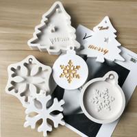 savon flocon de neige achat en gros de-Moules à cire de sapin de Noël