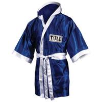 пинает одежду оптовых-хорошее качество мужские боксерские халаты мягкий бокс плащ удар женщин сухой халат одежда ребенка униформа Бата Boxeo