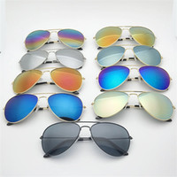 Wholesale vacuum frame - Fashion Dazzle Colour Sunglass Metal Frame Resin Lens Discolored Glasses Vacuum Coating Frog Mirror Men And women Universal 2 6xd Y