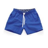 ingrosso mens stile di vacanza-Mens Beach Short 2018 New Summer Casual Shorts Uomo Cotone Moda stile Mens Pantaloncini Bermuda Beach Black Shorts per uomo