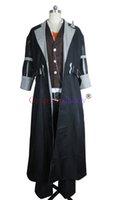 geschichten spiele großhandel-Geschichten von Berseria Eizen Ufemew Wexub Schwarz Langen Mantel Spiel Cosplay Kostüm F006