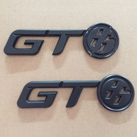 Wholesale toyota decals stickers - Glossy Black GT86 Logo Rear Trunk Badge Emblem Decal Sticker for Toyota FR-S FRS GT86 FT86 BRZ