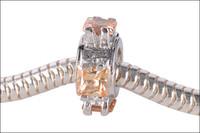 plata de ley surtida al por mayor-Europea Charms Bead 925 Sterling Silver Fit Pulsera de cadena de serpiente DIY Joyería Moda Estilo Retro Assorted Mix Designs