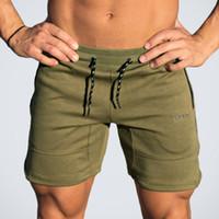 Wholesale Gasp Bodybuilding - 2017 Quality Men Golds Brand Fitness Shorts Mens Professional Bodybuilding Short Pants Gasp Big Size