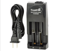 Wholesale 100 Original trustfire tr001 dual charger multifunctional dual battery charger for batteries