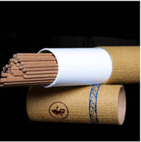 Wholesale pure sandalwood - 20g Tube Pure Natural Wormwood Incense Stick Laoshan Sandalwood Incense Sticks Indoor Good for Sleep Health 21cm