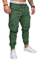 estilo dos homens dos basculadores venda por atacado-2018 Nova Cor Verde Medo De Deus Quinta Coleção NEVOEIRO Justin Bieber zíper lateral sweatpants homens hiphop ocasional calças 6 estilo M-4XL